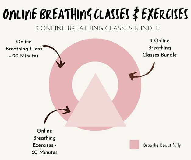 online breathing classes and exercises
