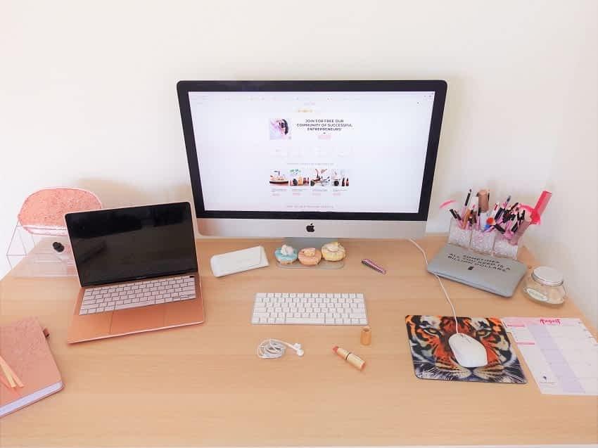 Work from home desk decor ideas