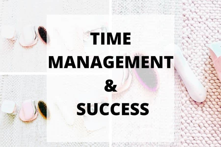 Skills you need for time management