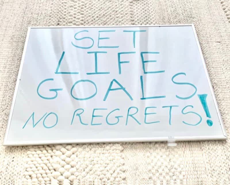 HOW TO SET GOALS TO CHANGE YOUR LIFE