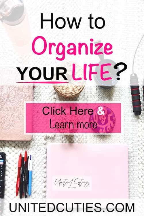 genius tips to organize your life