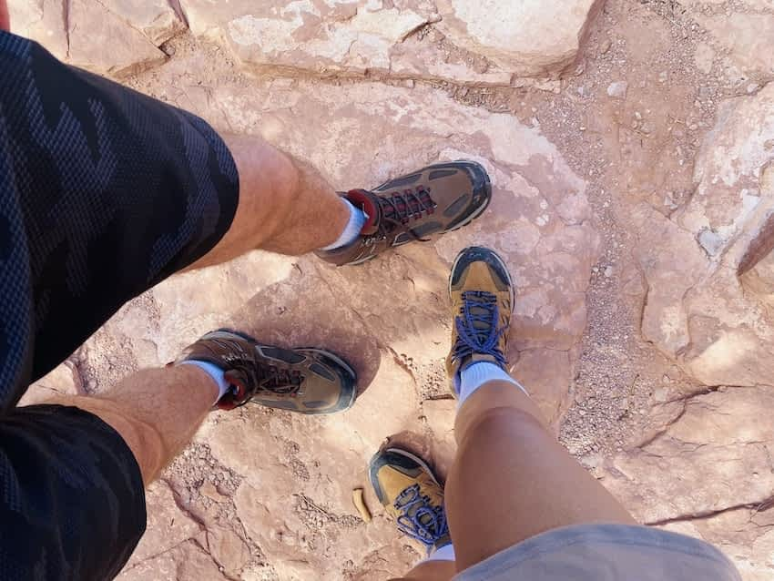hiking shoes for sedona trail
