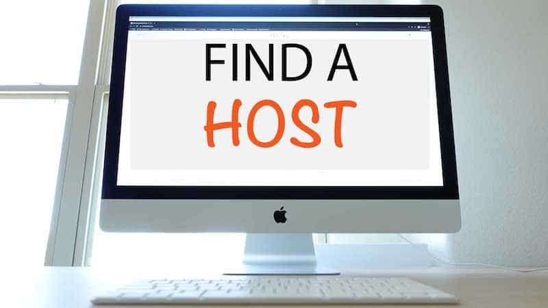 HOW TO FIND A WEBSITE HOST