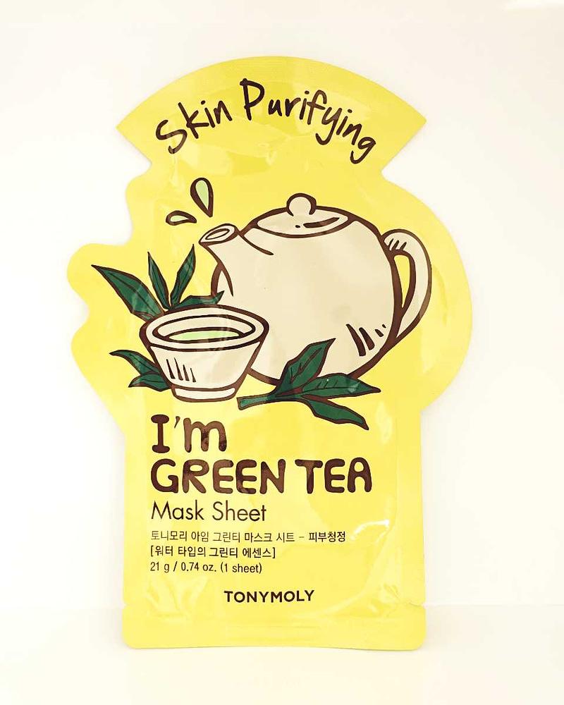 skin purifying green tea mask