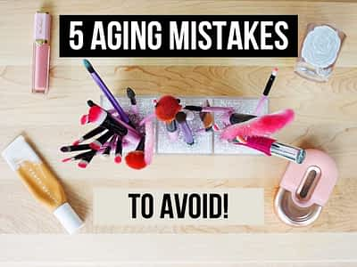 5 mistakes to avoid beauty products