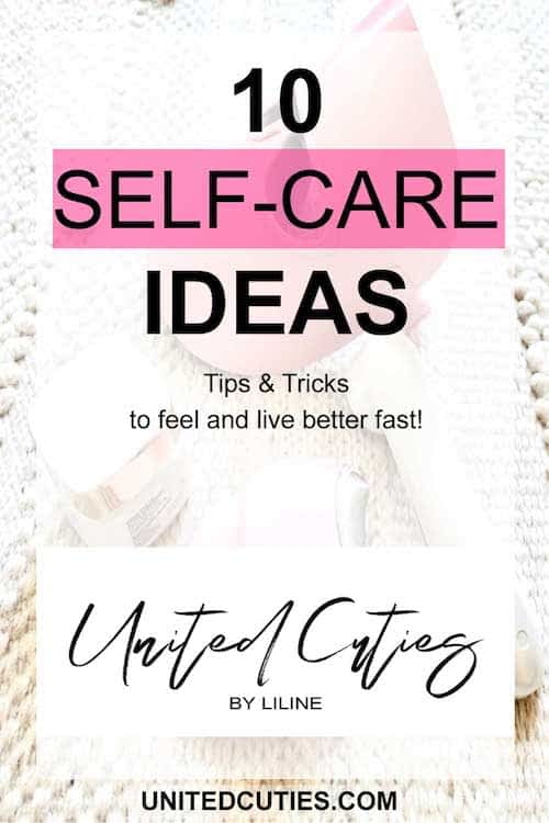 These self care ideas are awesome
