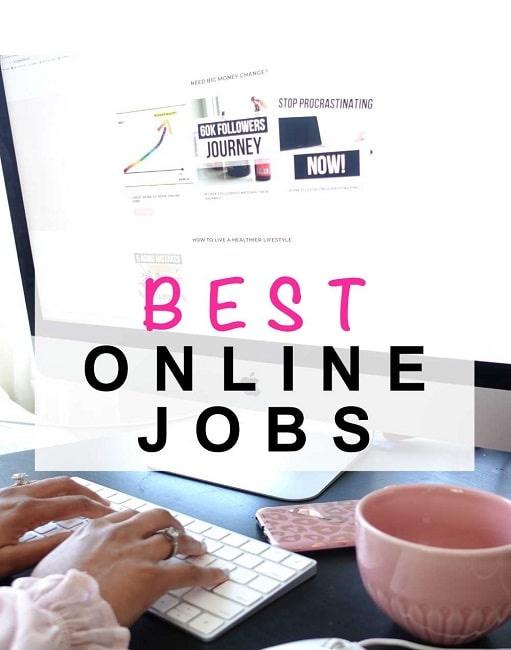 5 BEST WORK AT HOME ONLINE JOBS!