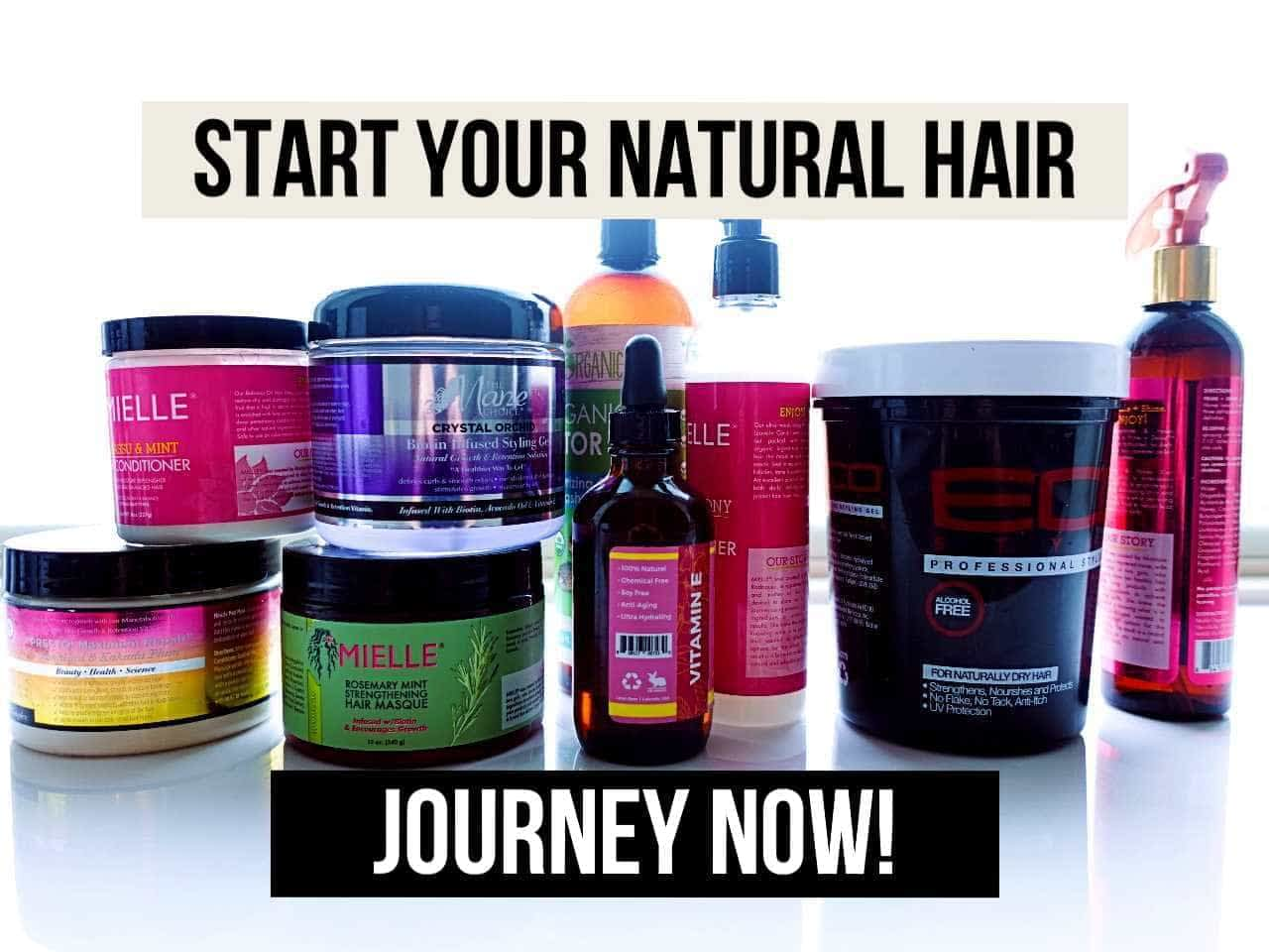 5 REASONS WHY YOU SHOULD START A NATURAL HAIR JOURNEY!
