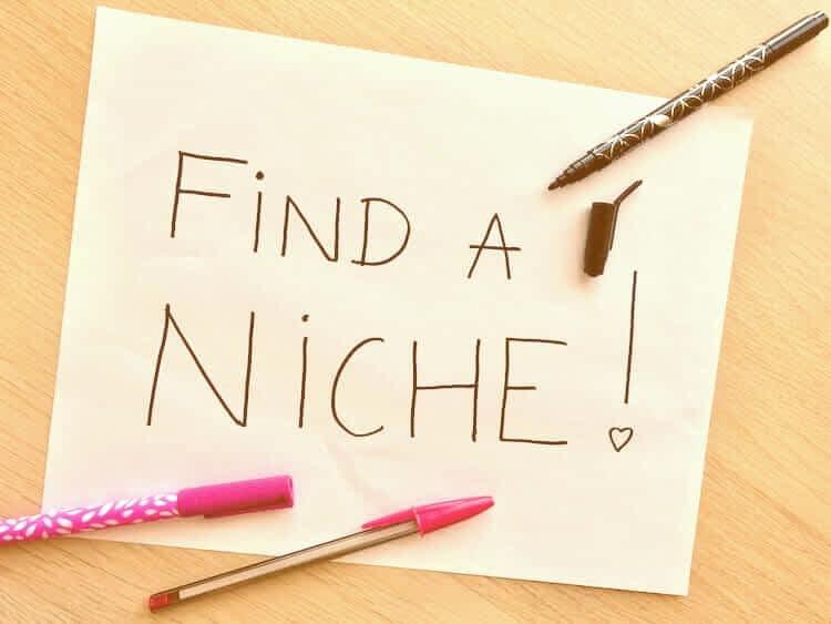 6 BEST TIPS TO FIND YOUR NICHE