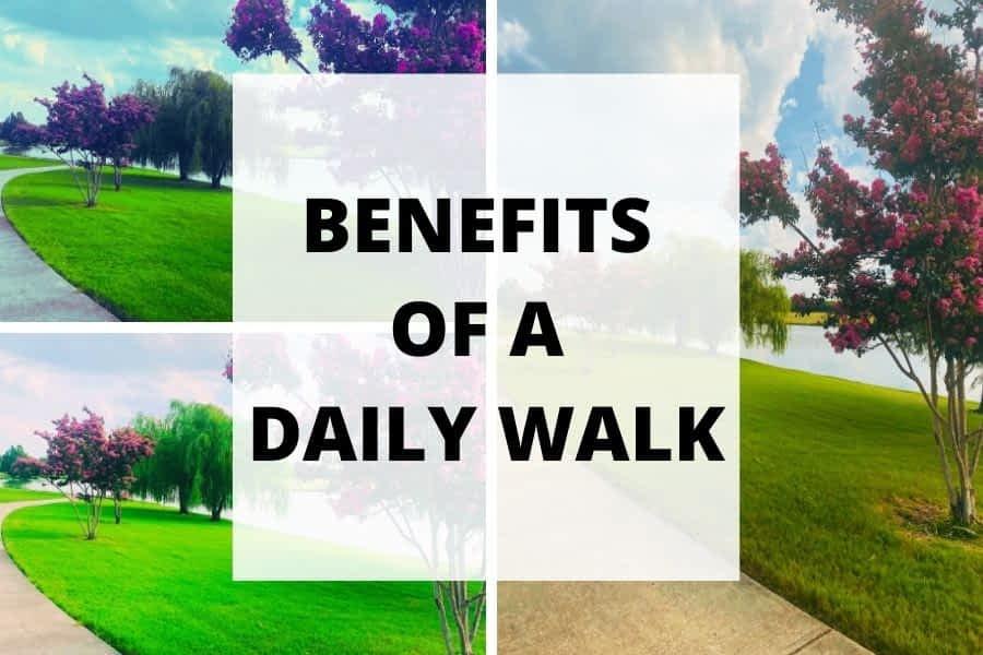 benefits of walking everyday